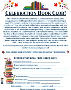 Celebration Book Club 2016