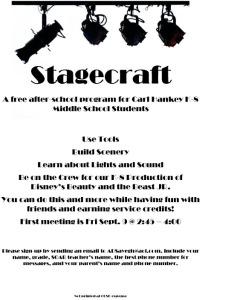 Stagecraft flyer 2016